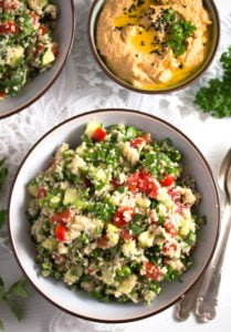 tabbouleh 5 209x300 Tabbouleh or Tabouli Salad with Parsley – Middle Eastern Recipe