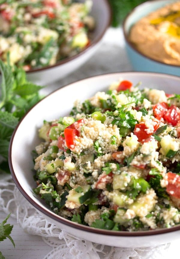 tabbouleh 6 Tabbouleh or Tabouli Salad with Parsley – Middle Eastern Recipe