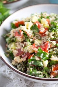 tabbouleh 7 200x300 Tabbouleh or Tabouli Salad with Parsley – Middle Eastern Recipe