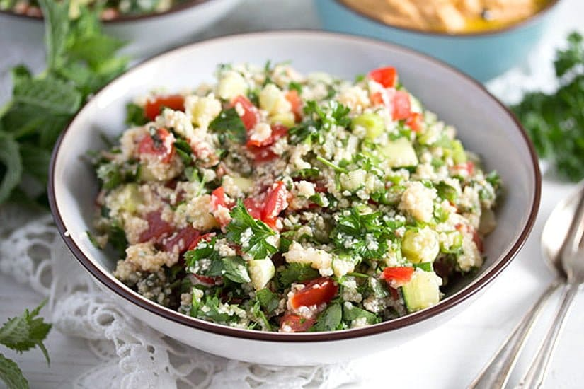 how to make tabouli salad with quinoa