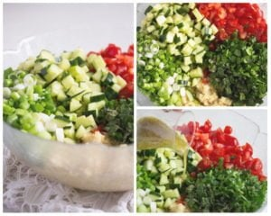 tabbouleh how to 300x240 Tabbouleh or Tabouli Salad with Parsley – Middle Eastern Recipe