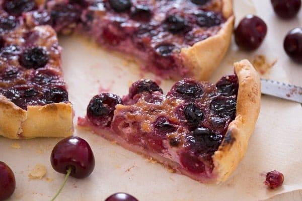 swiss sweet cherry pie