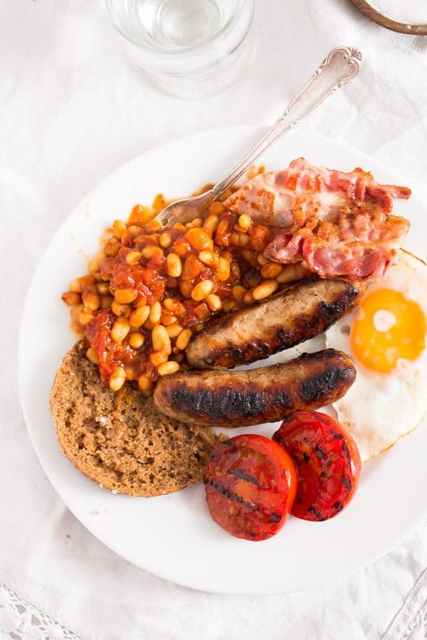 english breakfast 9 How to Make Full English Breakfast with Baked Beans