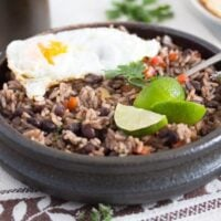 gallo pinto 5 200x200 Gallo Pinto – Black Beans and Rice Recipe – Costa Rican Food
