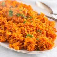 jollof rice 3 200x200 Spicy Jollof Rice with Tomatoes – Nigerian Food