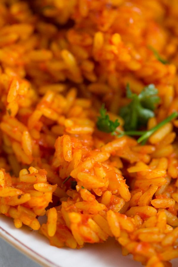 jollof rice 6 Spicy Jollof Rice with Tomatoes – Nigerian Food