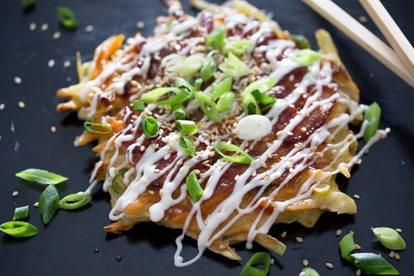okonomiyaki 4 Okonomiyaki – Japanese Cabbage Pancakes – Japanese Food