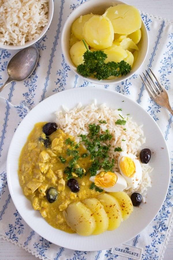 peruvian chicken recipe 3 Aji de Gallina   Peruvian Food Recipes