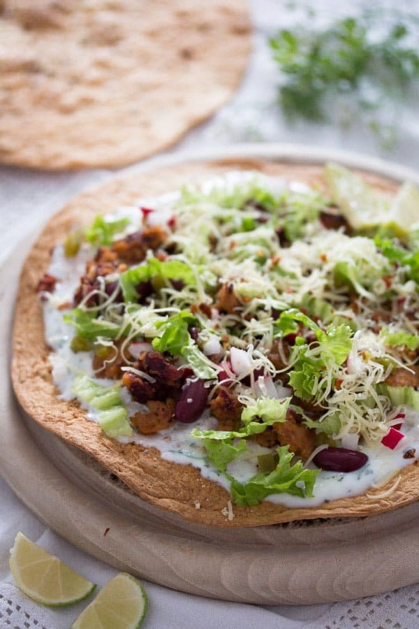 tostada recipe with chorizo