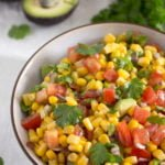 corn avocado salad mexican salsa