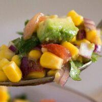 avocado corn salsa 8 200x200 Avocado Corn Salad   Mexican Salsa
