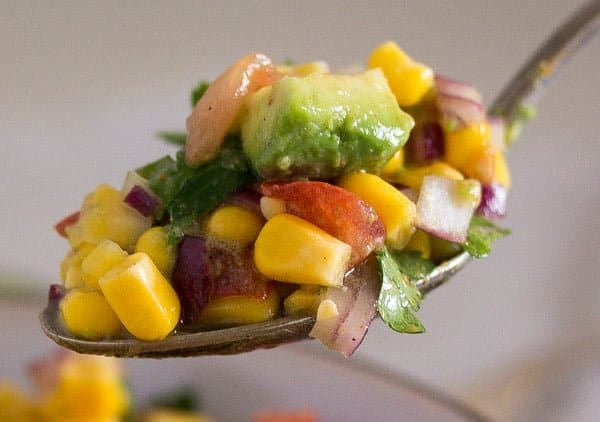 avocado corn salsa mexican