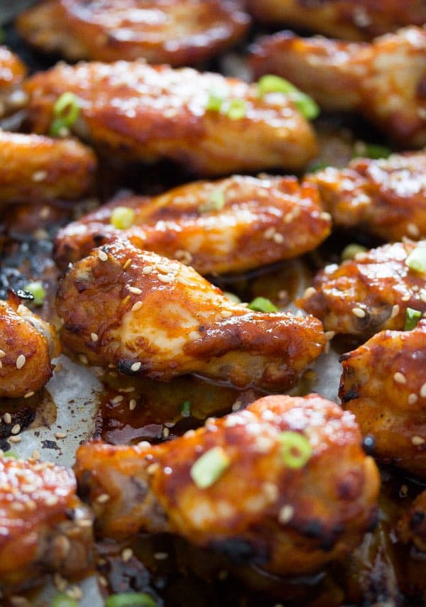 chicken wings korean