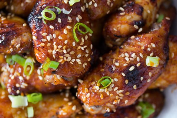 oven baked korean chicken wings