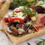 polish open sandwich 7 150x150 Zapiekanka   Toasted Mushroom and Cheese Sandwich – Polish Food