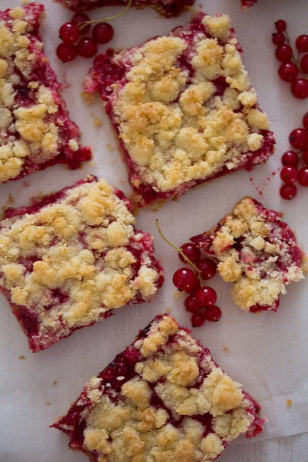 red currant cake 14 Easy Streusel Cake with Red Currants and Coconut – German Food