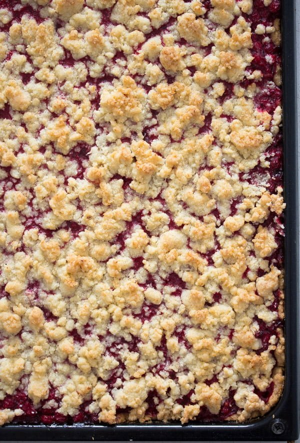 red currant cake 7 Easy Streusel Cake with Red Currants and Coconut – German Food