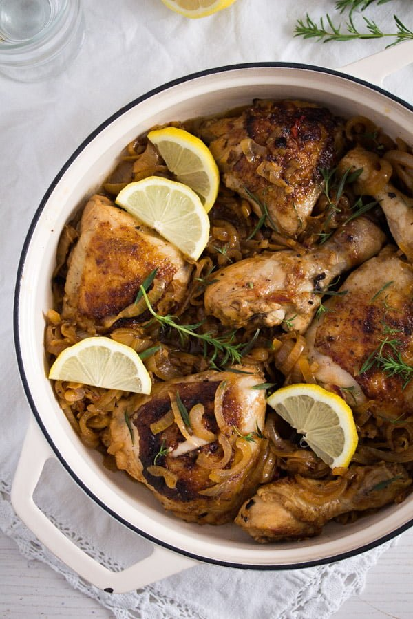 poulet yassa dish