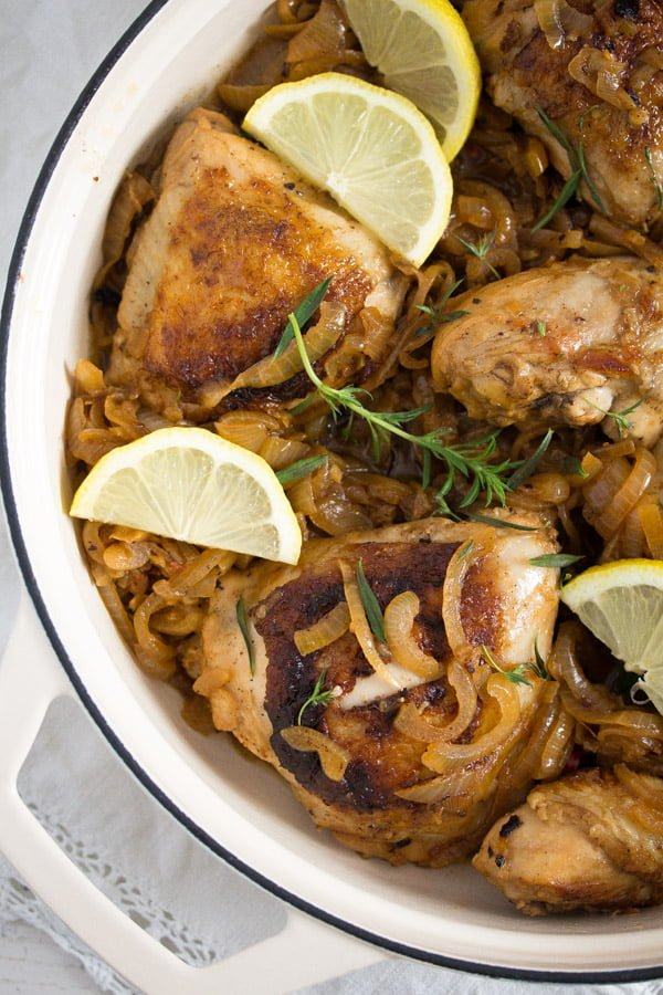 yassa chicken with onions