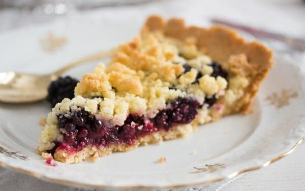 berry crumble pie recipe