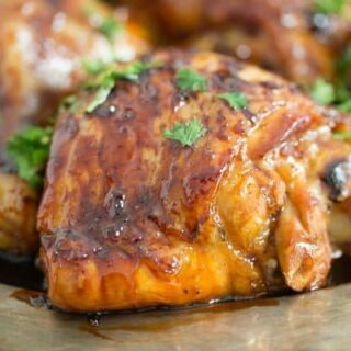 honey lime chicken thigh