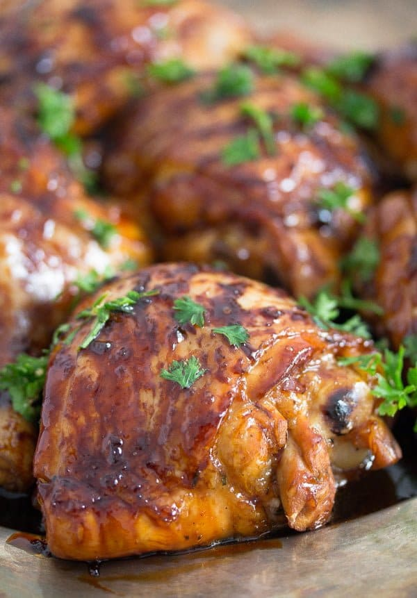 chicken with honey lime glaze