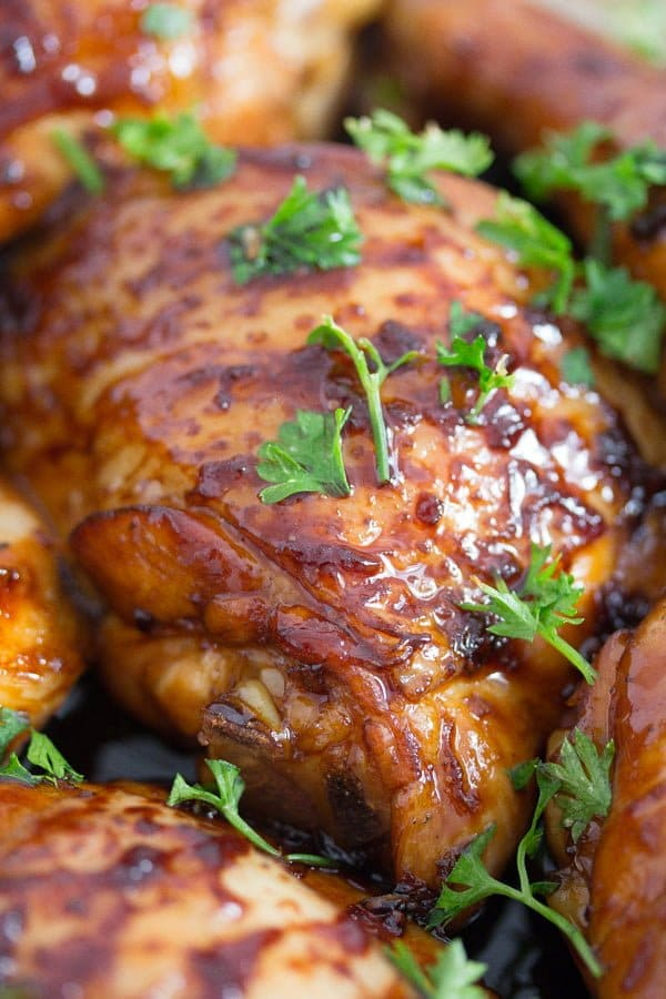 honey roasted chicken
