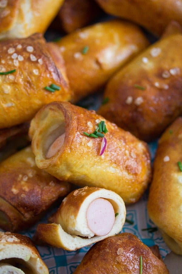 pretzel dog easy