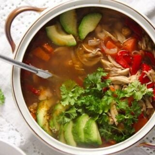 caldo tlalpeno recipe spicy mexican chicken soup