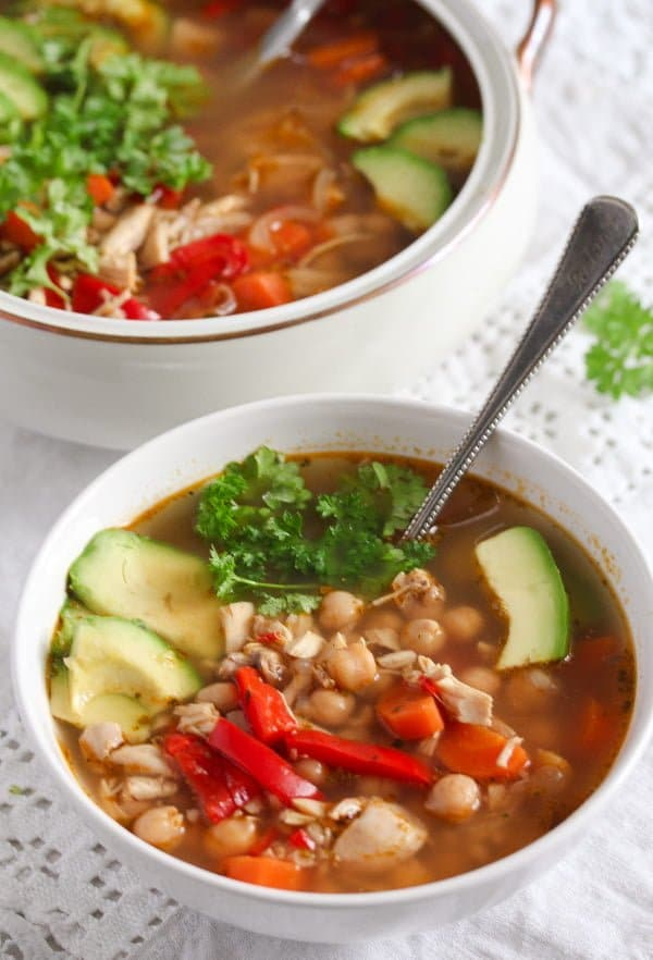 easy mexican chicken soup