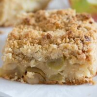 apple cake with streusel 10 200x200 Apple Crumble Cake   German Cake
