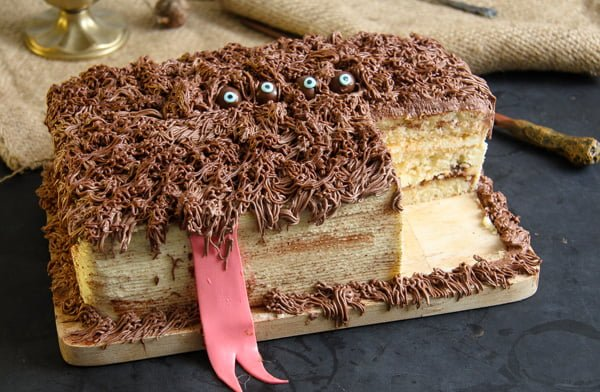 monster book of  monster cake recipe