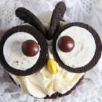 owl muffins 5 150x150 Owl Cupcakes with Oreos – Chocolate Cupcakes and Buttercream Frosting