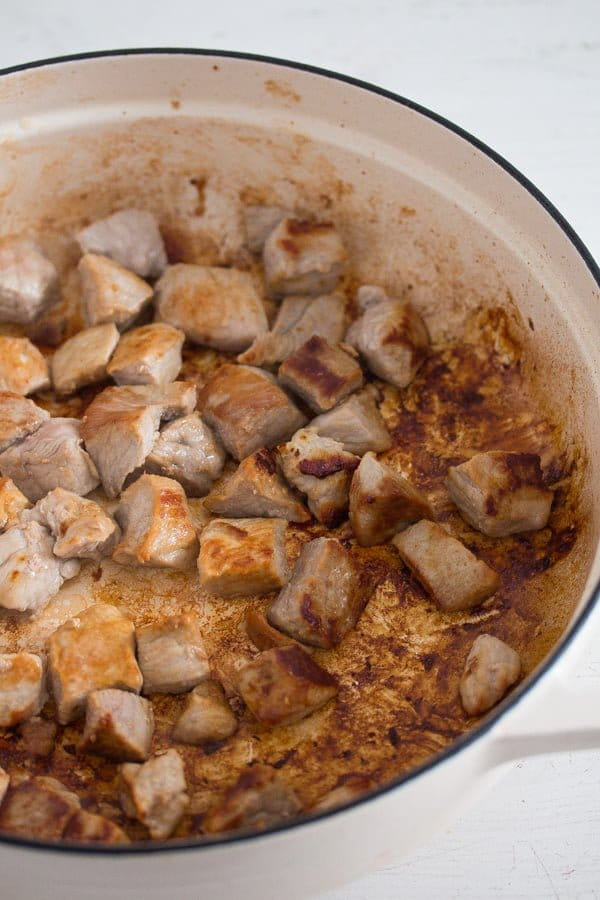 pork stew 1 Easy Pork Stew Recipe – Hungarian Goulash with Pork and Potatoes