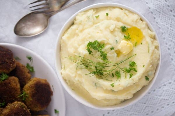 best garlic parmesan mashed potatoes