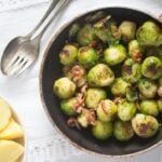 brussels sprouts garlic 4 150x150 Brussels Sprouts with Garlic and Bacon