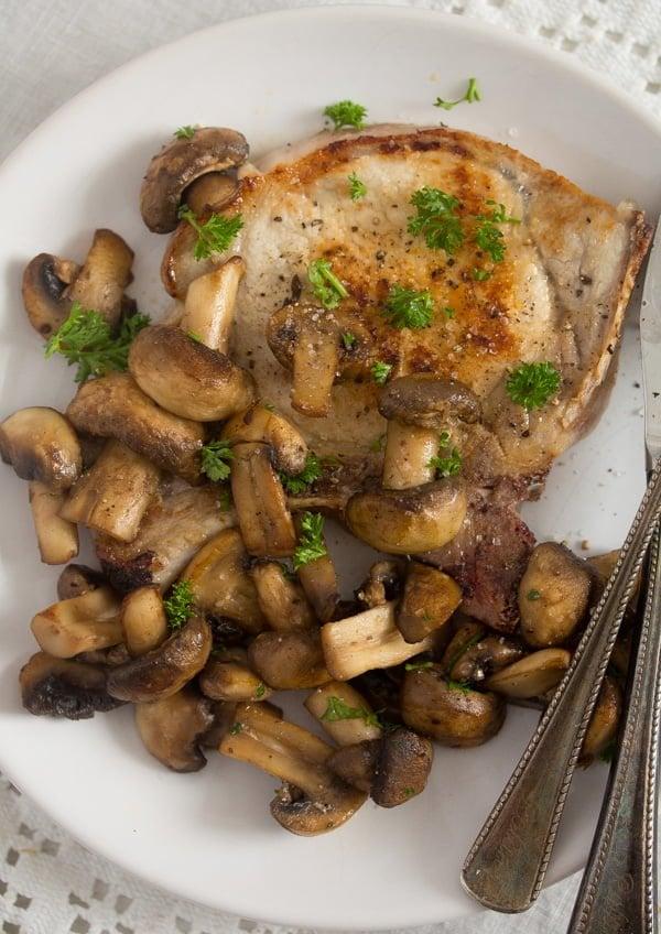 sauteed mushrooms for steak