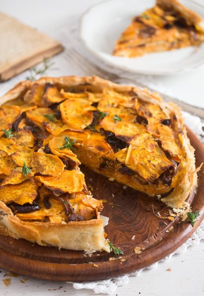 sweet potato pie with cheese