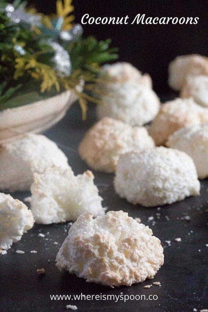 Coconut Macaroons 1 683x1024 Coconut Cookie Recipe