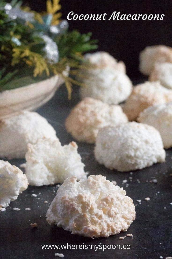 Coconut Macaroons 1 Coconut Cookie Recipe
