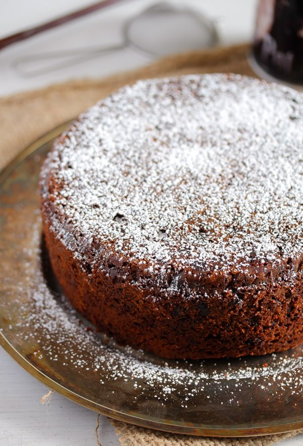 easy fruit cake without alcohol