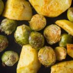 roasted brussels sprouts and potatoes 6 150x150 Roasted Brussels Sprouts and Potatoes with Rosemary