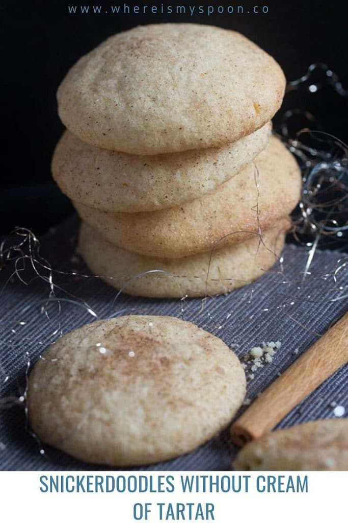 snickerdoodles 683x1024 Snickerdoodle Recipe Without Cream of Tartar