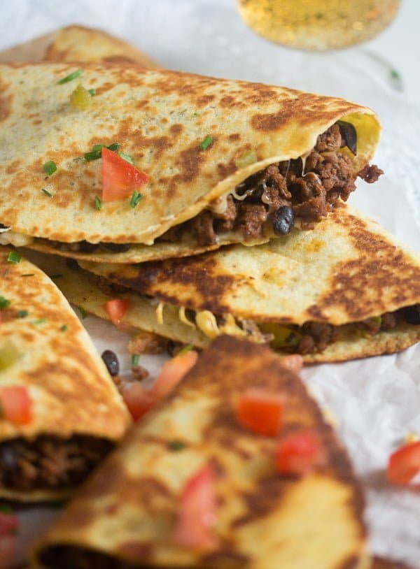 black bean quesadillas recipe 10 Black Bean Quesadillas Recipe with Ground Beef and Avocado