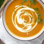 easy butternut squash soup 1 150x150 Vegan Butternut Squash Soup with Coconut Milk and Curry