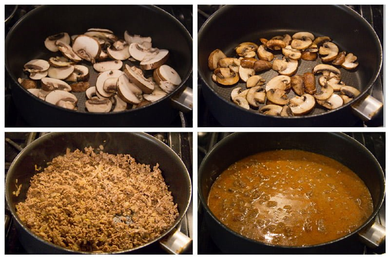 how to make ground beef stroganoff Beef Stroganoff with Ground Beef and Mushrooms