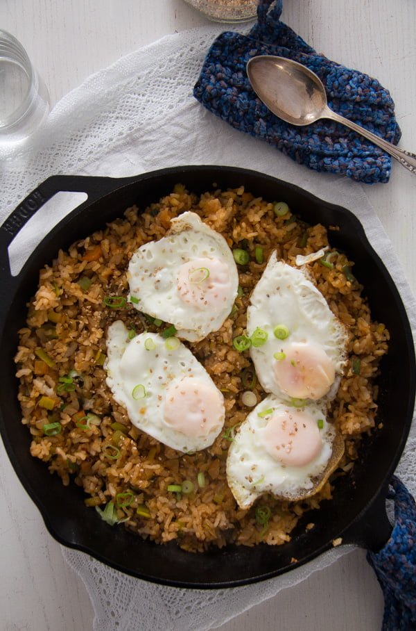 Kimchi Bokkeumbap - Korean Fried Rice