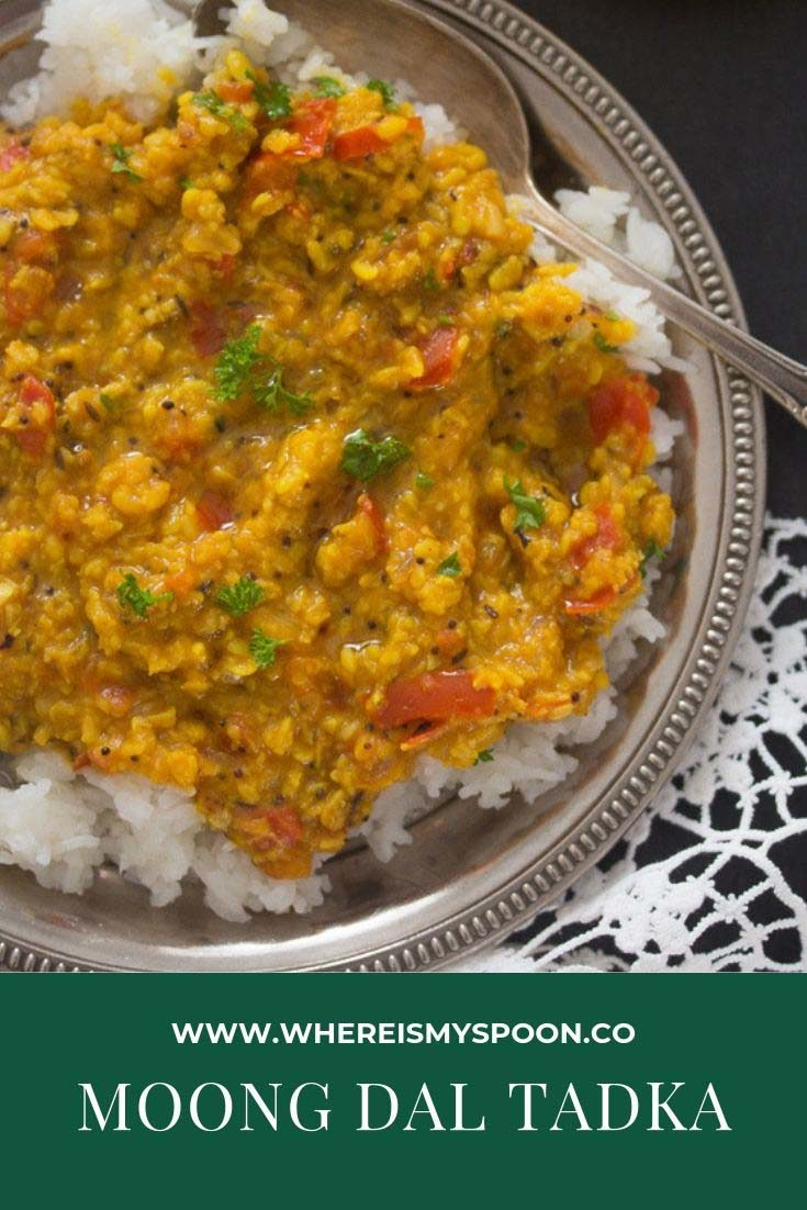 moong dal tadka 735x1102 Moong Dal Tadka Recipe – Indian Lentil Dal