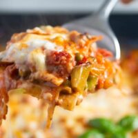 vegetable lasagna white sauce 6 200x200 Vegetable Lasagna with White Sauce (or Bechamel Sauce)