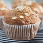 banana muffins with oats